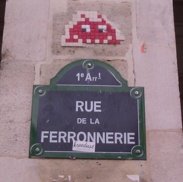 Hey Invader! Paris, France, April 2012