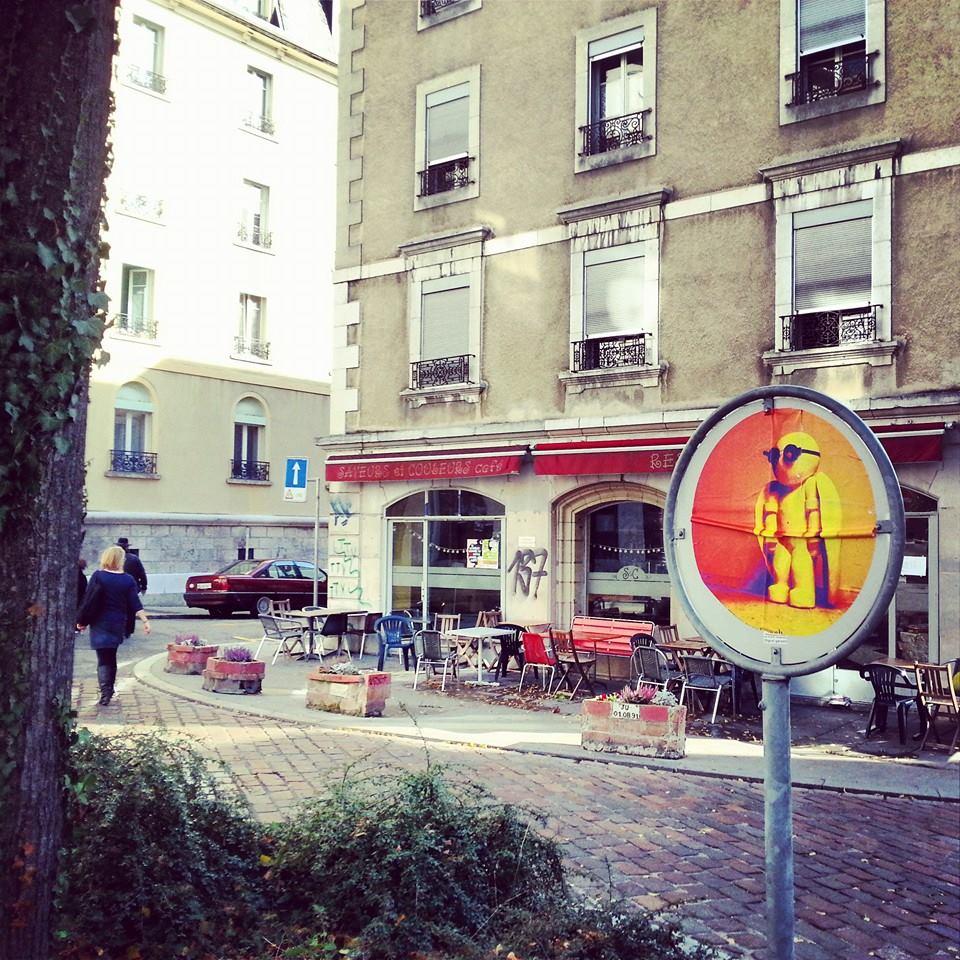 Cool dude! Geneva, Switzerland, November 2013