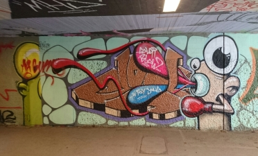 More Mr Gum in the underpass