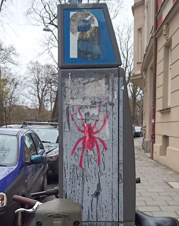 Spiderman was also here